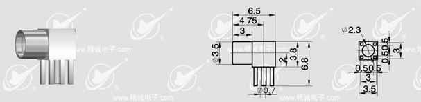产品类别:                              印制电路板连接器